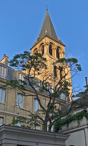 View of Eglise Saint-Germain-des-Prés