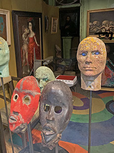 Collection of masks.