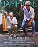 Hampton's cover of two men playing petanque.